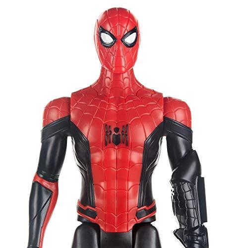Spiderman- Movie Titan Hero Traje (Hasbro E5766EU4), Multicolor