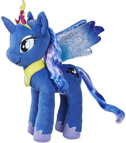 Spielotopia My Little Pony E0429ES0 Mane Divertido Peluche Princesa Celestia y E0430 Princesa Luna, 30 cm, Juego de 2