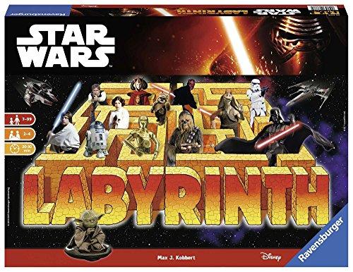 Star Wars-00.026.666 Star Wars juego de mesa, Multicolor, 7 a&ntildeos (Ravensburger 26666 1) , color/modelo surtido