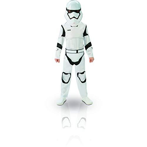 Star Wars - Disfraz de Storm Trooper para niños, talla L infantil 7-8 años (Rubie's 620267-L)