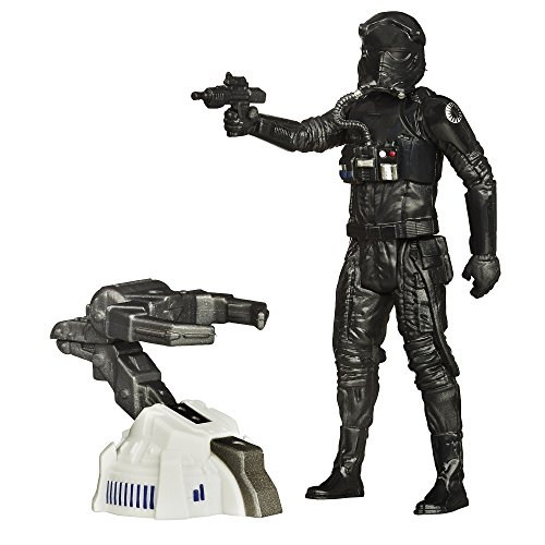 Star Wars - El Despertar de la Fuerza - Figura Space Mission First Order Tie Fighter Pilot, 9.5cm (B3450)