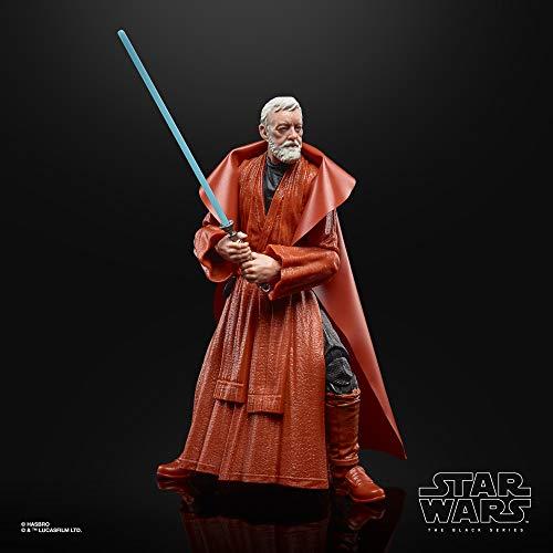 Star Wars The Black Series - Ben (OBI-WAN) Kenobi a Escala de 15 cm - 50.º Aniversario de Lucasfilm - Figura de la trilogía Original de Star Wars