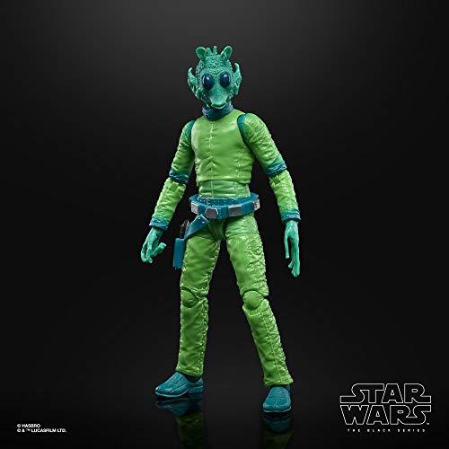Star Wars The Black Series - Greedo a Escala de 15 cm - 50.º Aniversario de Lucasfilm - Figura de la trilogía Original de Star Wars - Edad: 4+