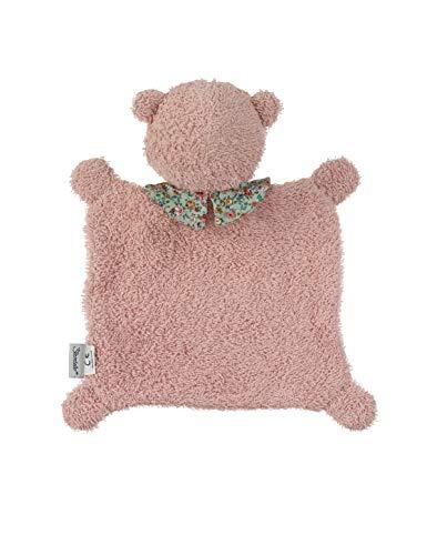Sterntaler Baylee Blue - Mantita de seguridad para bebé Mes Tamaño: 26 cm Color: Azul Rosa