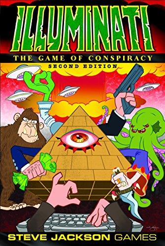 Steve Jackson Games SJG01387 Illuminati 2nd Edition - Multicolor
