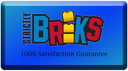 Strictly Briks - Pack de 12 Bases para Construir - Compatibles con Todas Las Grandes Marcas - 16 x 16 cm - Verde, Azul y Gris