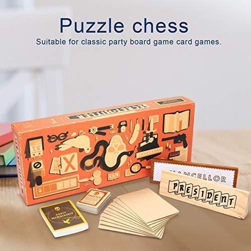 succeedw Hitler's Secret Board Game Party Card Juego de Mesa Juegos nocturnos para Grupos adecuados para 5 a 10 Jugadores, Juegos de Mesa para Adolescentes y Adultos