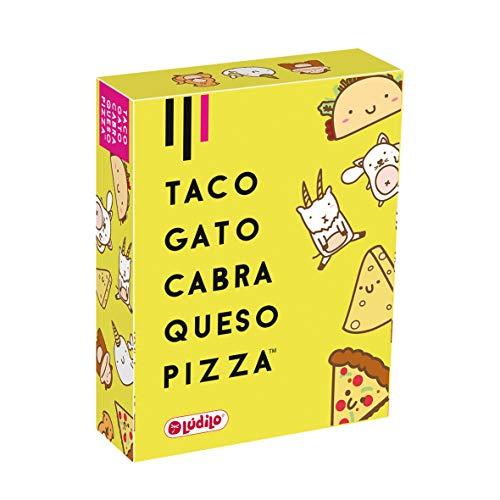 Taco, Gato, Cabra, Queso Pizza (Ludilo), Juego de mesa, Juegos de Cartas, Juegos Familiares