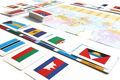 Tactic Games UK - Juguete Educativo de geografía (versión en inglés)