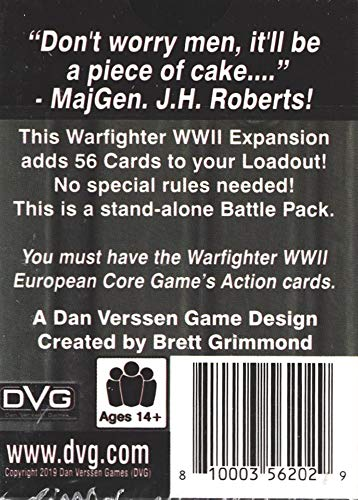 Tactical Wargame Warfighter WWII - Dieppe Expansion