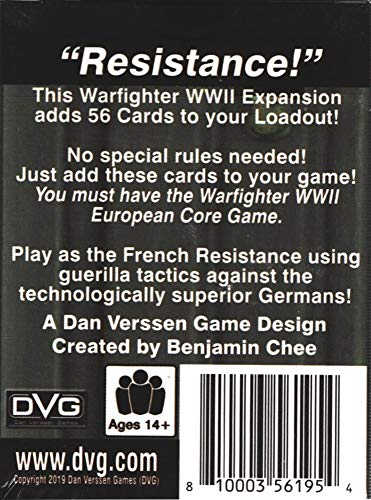 Tactical Wargame Warfighter WWII - Maquis Expansion