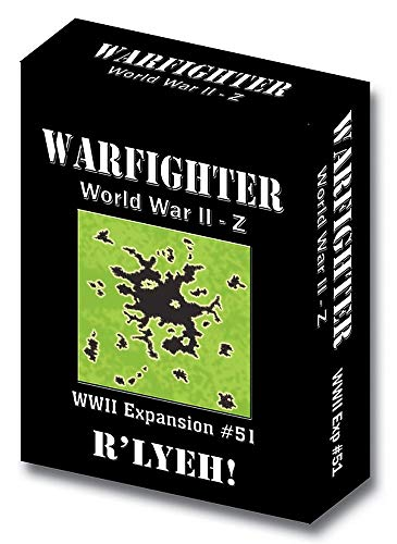 Tactical Wargame Warfighter WWII-Z - R'lyeh