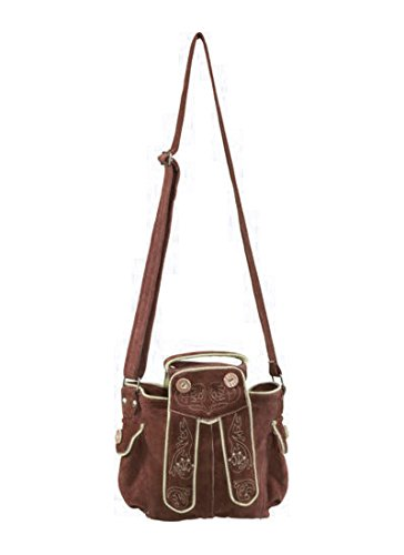 Tannhauser 0108-31 - Bolsa Dirndl, marrón oscuro