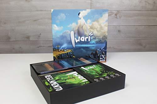 TCG Factory IWARI Juego de mesa para 2 a 5 jugadores. A partir de 14 años de edad. Perfecto para iniciarse en los juegos de mesa modernos.