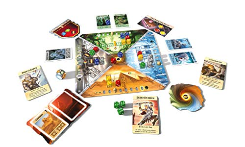Thames & Kosmos 692988 Roll for Adventure | El Destino se Encuentra en tu Mano | Juego de Mesa de fantasía cooperativa, 2-4 Jugadores, a Partir de 10 años.