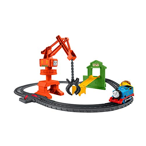 Thomas & Friends GHK83 Thomas and Friends Fisher-Price(R) - Juego de grúa y Carga Cassia