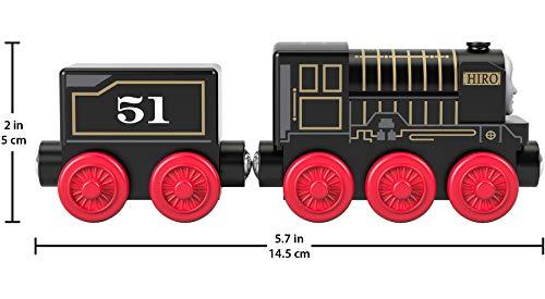Thomas & Friends - Locomotra Hiro Tren de juguete niños +2 años (Mattel GGG67)