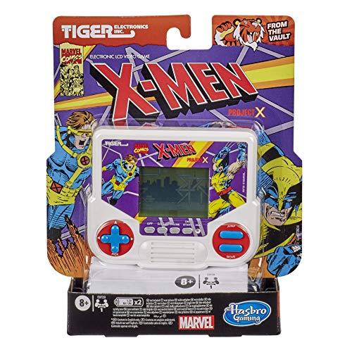 Tiger Electronics Marvel X-Men Project X - Videojuego electrónico LCD para 1 Jugador, Inspirado en Retro-Inspirado, a Partir de 8 años