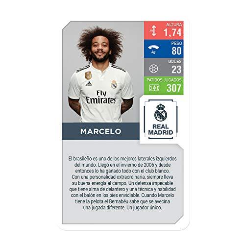 Top Trumps Real Madrid. Juego de Cartas-versión en español, Multi, Talla Única