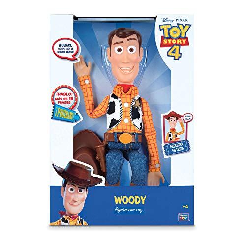 Toy Story Figura Articulada Woody con voz 40 cm (BIZAK 61234071)