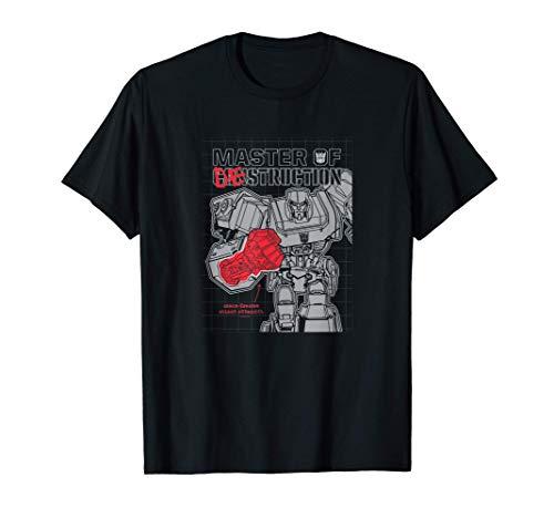 Transformers Megatron Master Of Destruction Color Pop Camiseta
