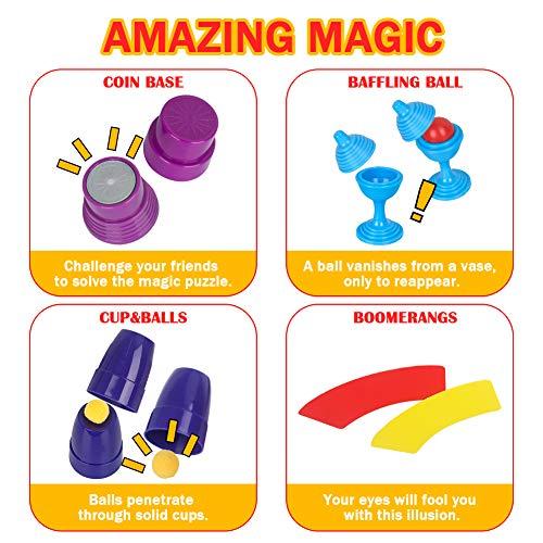 Vanplay Trucos de Magia Incluir Más de 75 Juegos de Magia para Niños de 6+ Años