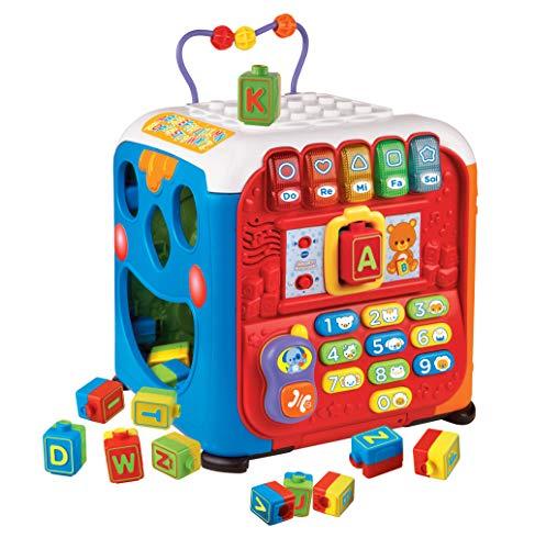 VTech- Baby: Alfacubo Sorpresas Cubo de Actividades, Multicolor (3480-135422)