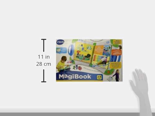 VTech MagiBook - Sistema de Aprendizaje Interactivo, Color Verde, versión Francesa