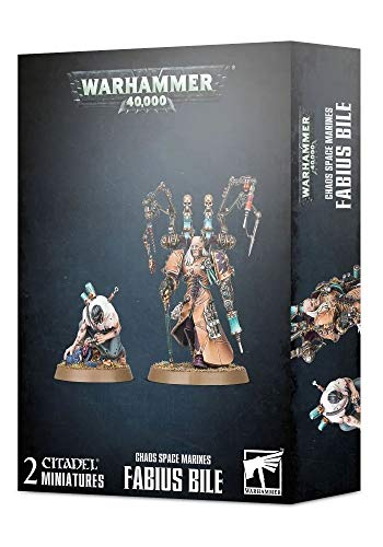 WARHAMMER 40K Chaos Space Marines: Fabius Bile