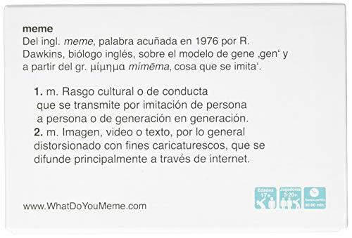 What Do You Meme?- Juego de Cartas, Multicolor, Talla Única (Bandai Wh00030)