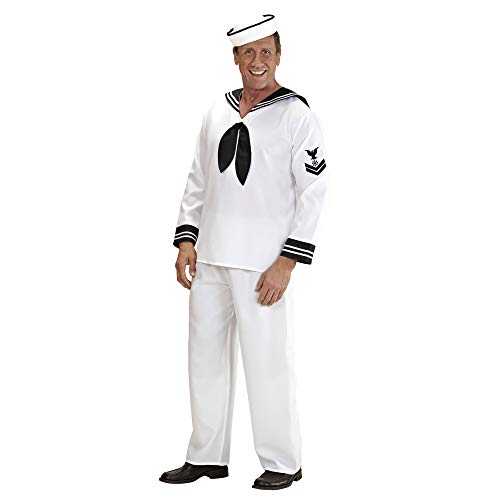 WIDMANN Widman - Disfraz de marinero navy para hombre, talla S (46) (57721) , color/modelo surtido
