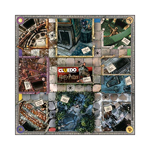 Winning Moves Cluedo Harry Potter Edición Caja Blanca (40341)