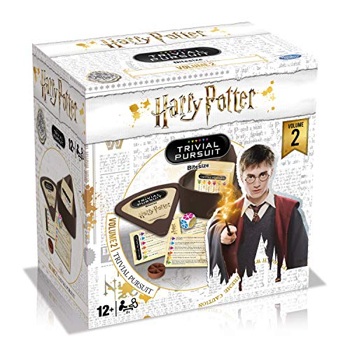 Winning Moves- Harry Potter: Trivial Bite, Blanco (40303)