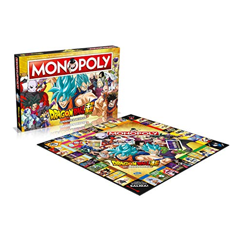 Winning Moves Monopoly Dragon Ball Super- Versión en español (WM00250-SPA-6)