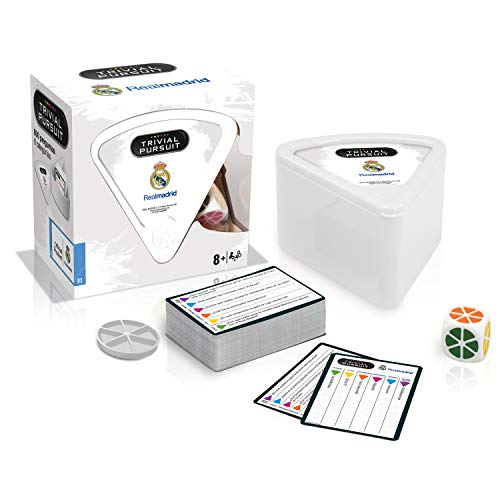 Winning Moves Trivial Bite Real Madrid Cf (10308), multicolor (Eleven Force