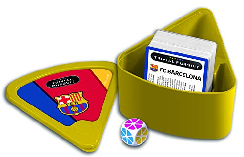 Winning Moves Trivial Pursuit FC Barcelona Edición Viaje Juego de Cartas-versión Española