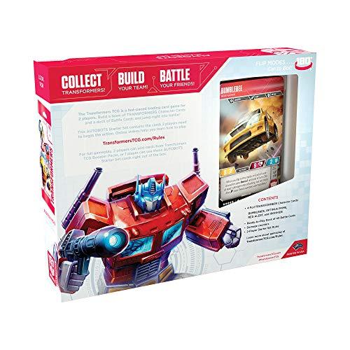 Wizards of the Coast WTCC57360000 Transformers - Juego de Cartas