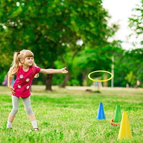 Yetech 3-in-1 Ring Toss Game Set Intelligence Development Juego de Deportes Juego al Aire Libre para Niños y Adultos Ideal para cumpleaños de Exterior.