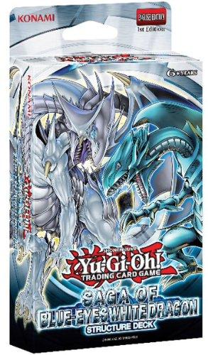 YU-GI-OH! Konami YGO - Saga del Dragón Blanco de Ojos Azules, baraja de Estructura (en inglés)