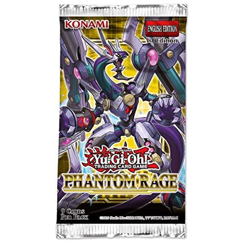 Yu-Gi-Oh KONPHRA Phantom Rage Booster Caja de 24 Paquetes