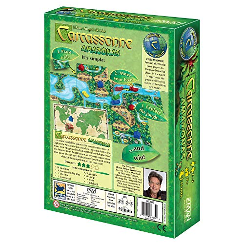 Z-Man Games Carcassonne Juego de Tablero