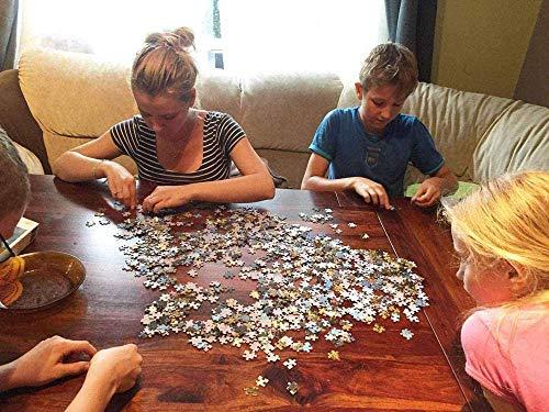 ZGNH Puzzles 1000 Piezas Destructor Nave Espacial explosión Estrella Madera Puzzle, niño Juguete Educativo Intelectual de Adulto descompresión,Regalo Ideal La Mejor DIY Decoración hogareña