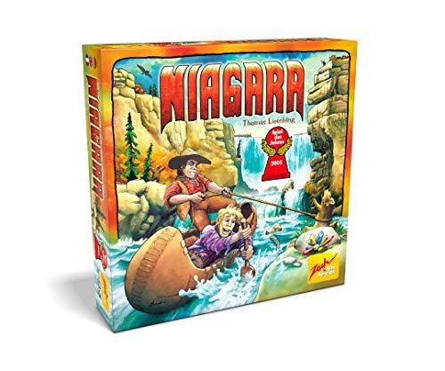 Zoch Niagara Viajes/Aventuras - Juego de Tablero (Viajes/Aventuras, 45 min, Niño/niña, 8 año(s), 297 x 72 x 297 mm, 297 mm)