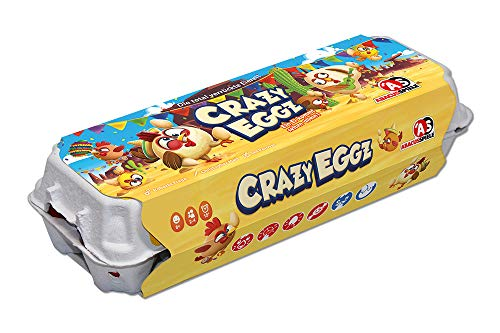 ABACUSSPIELE 54191 Crazy Eggz - Juego Familiar