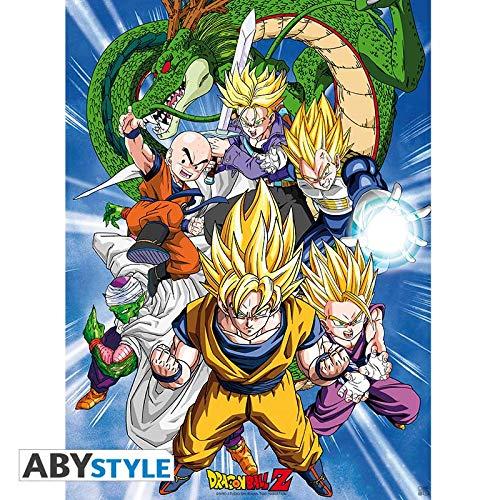 "ABYstyle - Dragon Ball - Póster ""Cell Saga"" (52x38)"