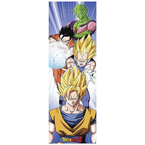 ABYstyle - Póster de Dragon Ball (53 x 158 cm), diseño de Saiyanos