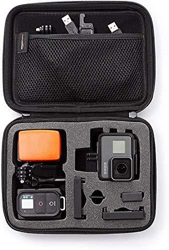 Amazon Basics - Estuche de transporte para GoPro - Extra-pequeño