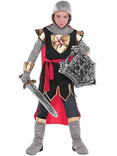 amscan 9904192 Juego de disfraz de Crusader para niños de 10 a 12 años