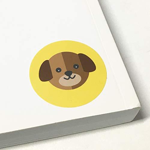 Animales Pegatinas Infantiles (Perros, Gatos, Leones, Elefantes) - 20 Hojas, 200 Pegatinas