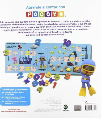 Aprende a contar con Pocoyó: Libro con piezas encajables (Pocoyo)